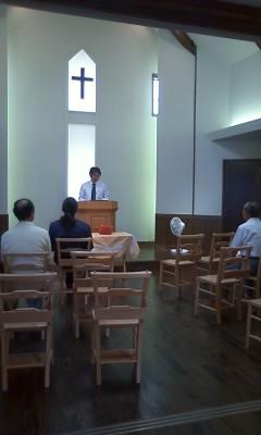 翌日の主日礼拝